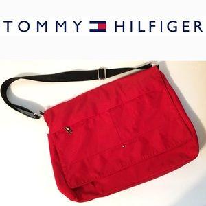 Tommy Hilfiger Crossbody Messenger Bag Spellout